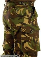 NEW - British Army Issue Woodland DPM Combat Trousers  85/92/108