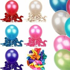 Wholesale Mixed 50Pcs Colorful Latex Balloons Helium Quality Party Decor  10""