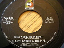 """GLADYS KNIGHT & THE PIPS - I FEEL A SONG IN MY HEART  7"""" VINYL"""