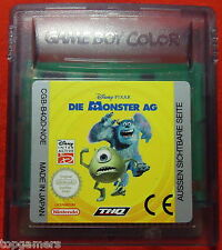 Los monstruos AG-Disney Pixar-Nintendo Game Boy Color/Advance