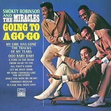 Smokey Robinson & The Miracles Going To A Go-Go/Away We A Go-Go  CD  Brand New!