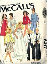 """Reduced!!  McCall 6317 1978 11½"""" & 12"""" Fashion Doll Clothes Pattern"""