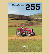 Massey Ferguson MF 255 Schlepper 47 PS Original 1977