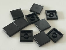 *NEW* 10 Pieces Lego SMOOTH TILE 2x2 BLACK 3068