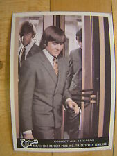 Vintage The Monkees Raybert Trading Card 1967 40 A Davy Jones Suit Door