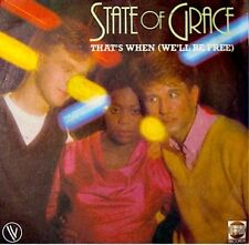 STATE OF GRACE that's when/instrumental SP 1982 VG++