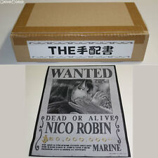 [USED] Ori Art The Wanted Poster 08 Nico Robin One Piece Toy BANDAI Japan