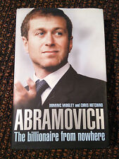 ABRAMOVICH - THE BILLIONAIRE FROM NOWHERE - MIDGLEY + HUTCHINS - SIGNED - VR