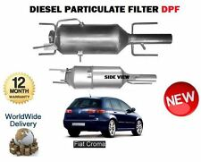 FOR FIAT CROMA 1.9D 2.4D MULTIJET 2004-  New DIESEL PARTICULATE FILTER DPF