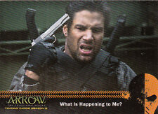 2015 ARROW SEASON TWO MIRAKURU CARD #U1 WHAT IS HAPPENING TO ME?