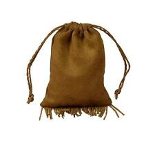 "Faux Leather Pouch/Bag- Fringed 3"" x 4"""""