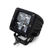 Square 3 Watt 3 LED Car Van Truck Work Light 10v-30v