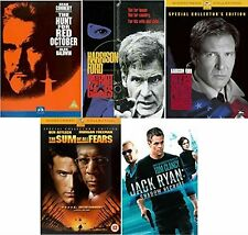 Jack Ryan All 5 Movies DVD Complete Collection Extras Brand NEW