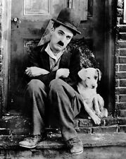 1918 Comic Actor CHARLIE CHAPLIN Glossy 16x20 Photo 'A Dogs Life' Print Poster