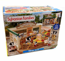 SYLVANIAN FAMILIES Toys Village Shop Playset wfurniture, figure & items + BOX