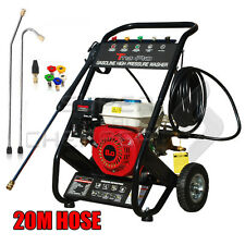 TmaxPro 3950 PSI High Pressure Cleaner Washer 8 HP Petrol 20m Water Hose Gurney