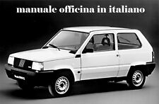 FIAT PANDA Manuale Officina 750 900 1000 1100 1300 4x4 In Italiano