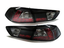 Lancer CJ/VR/VR-X/SX/ES/DE/SE/GTS LED Rear Tail Light Black Mitsubishi