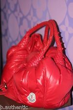MONCLER FENDI Spy Bag Wet RED Quilted Down Puffer ONLY 500 MADE $2,400+ LIMITED!