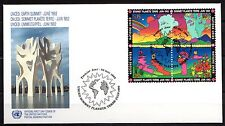 United Nations / Geneva office - 1992 Earth Summit Mi. 215-18 FDC