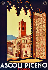 "18x24""Decoration Poster.Home Room Interior design.Travel Italy.Ascoli.6545"