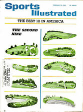 2-22-65 THE BEST 18 HOLES IN AMERICA THE 2ND NINE - SPORTS ILLUSTRATED - GOLF