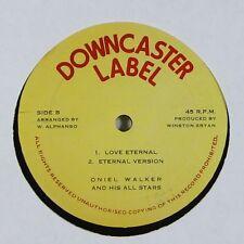 """Oniel Walker """"Love Eternal/What A Woe In A Babylon"""" Reggae 12"""" Downcaster mp3"""