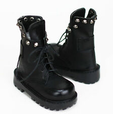 BJD 70cm SD Black Combat Boots with Spikes