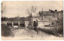 CPA 35 - SAINT GERMAIN SUR ILLE (Ille et Vilaine) - 130. Le Moulin - Dos simple