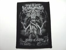 NECROPHOBIC-WOMB OF LILITHU      WOVEN  PATCH