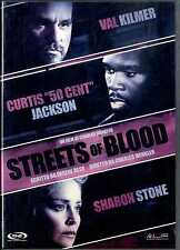 STREETS OF BLOOD Val Kilmer 50 Cent Sharon Stone DVD FILM Usato Excellent