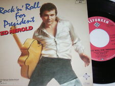 "7"" - Ted Herold / Rock ´n´ Roll for President & Frag nicht nach Judy 1980 # 4082"