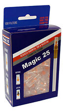 100pc Loose Value Pack Magic 25 Cigarette Filters Made in USA