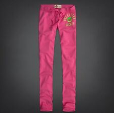 HOLLISTER WOMENS SWEATPANT PANTS SKINNY FIT PINK SIZE LARGE BNWT