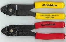 Pair of GC/Waldrom wire crimpers for Molex crimp ends used in pinball and arcade