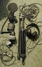 Audio-Technica AT2035 Condenser Cable Professional Microphone WITH EXTRAS