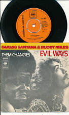 "SANTANA BUDDY MILES 45 TOURS 7"" EVIL WAYS"