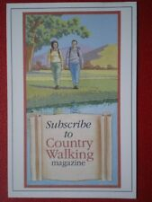 POSTCARD  SUBSCRIBE TO COUNTRY WALKING MAGAZINE