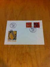 Archery,Art,Painting,Horse,Portugal 1975 Fleetwood First Day Cover ~F1-L34 *