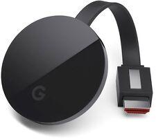 Google Chromecast Ultra (4K Ultra HD) (3rd Generation) - Black
