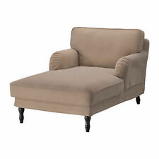 IKEA STOCKSUND Chaise Longue Cover Vellinge Light Brown - COVERS ONLY 202.809.76