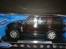 Welly Land Rover Range Rover 2003 Black 1/18