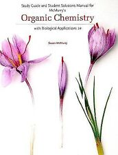 Study Guide and Student Solutions Manual for McMurry's Organic Chemistry: with B