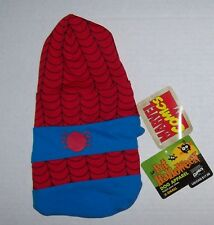 NWT Marvel Amazing Spider-Man dog costume Size X-Small Spiderman Halloween