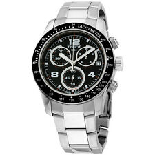 Tissot V8 Chronograph Black Dial Men's Watch T0394171105702