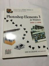 NEW Photoshop Elements 3 for Windows One-On-One [With CDROM] by Deke McClelland