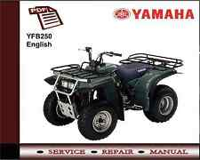 Yamaha YFB250 YFB 250 Service Repair Workshop Manual