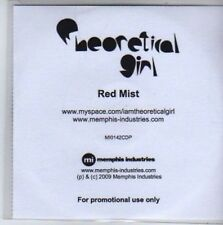 (BB221) Theoretical Girl, Red Mist - DJ CD