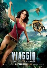 POSTER JOURNEY 2 THE MYSTERIOUS ISLAND VIAGGIO NELL'ISOLA MISTERIOSA THE ROCK #3