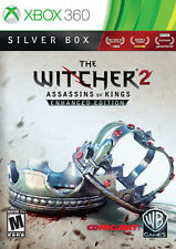 The Witcher 2 Assassins of Kings Enhanced Edition Silver Box Microsoft XBOX 360